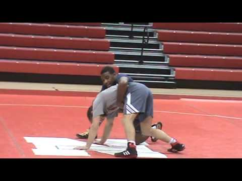 Nebraska Wrestling Coaches Clinic 2013 14 Jordan Burroughs technique 13  Misdirection Single to Doub
