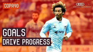 The Long Road To Going Pro   Audi Goals Drive Progress with Sporting Kansas City's Gianluca Busio