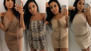 NUDE DRESSES TRY-ON HAUL