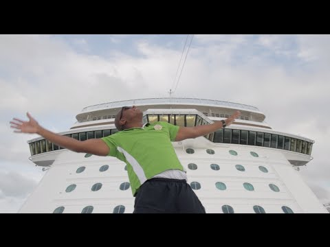 Norwegian Cruise Line's Happy Tribute to Pharrel Williams's