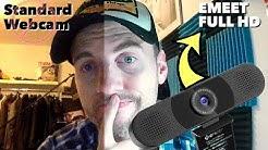 Schluss mit schlechten Webcam Aufnahmen - EMEET 1080P Full HD Webcam REVIEW