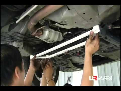UltraRacing | Installation Guide: Honda City FrontLower Bar Installation Guide  YouTube