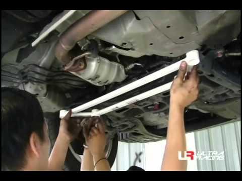 UltraRacing   Installation Guide: Honda City FrontLower