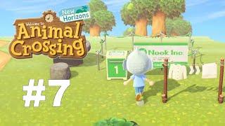 Animal Crossing: New Horizons - Gameplay Walkthrough Part 7 - 3 New House Plots