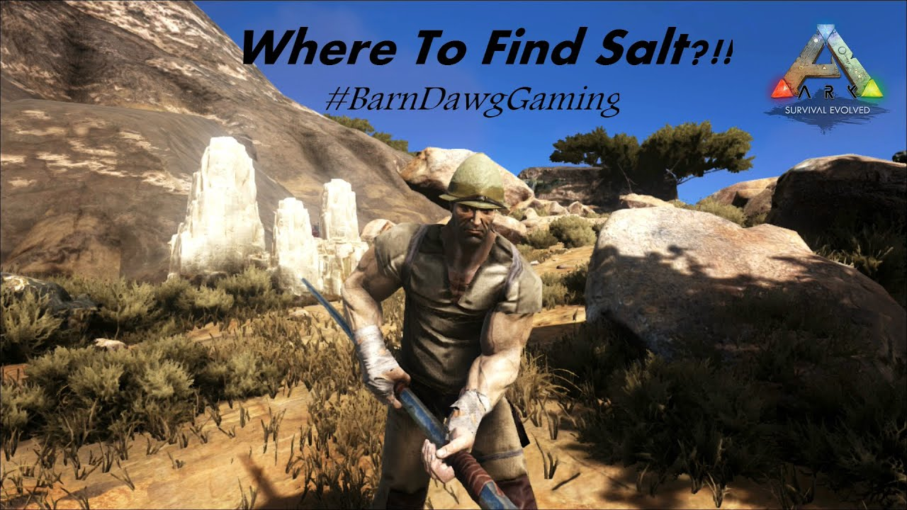 ARK Scorched Earth  Where to Find Salt Tips and