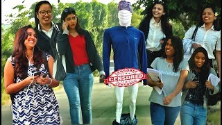 Mannequin Flashing at Cute Girls | Funny Prank in India