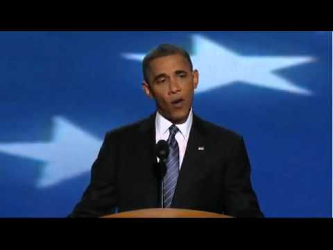 PRESIDENT BARACK OBAMA INSPIRATIONAL ACCEPTANCE SPEECH at DN
