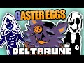 EASTER EGGS, SECRETS, & REFERENCES in DELTARUNE - PART 1 | Delta Rune Name, Egg, Gaster, Key & more