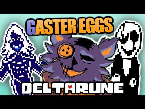EASTER EGGS, SECRETS, & REFERENCES in DELTARUNE - PART 1   Delta Rune Name, Egg, Gaster, Key & more
