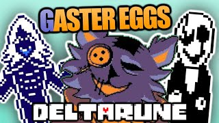 ALL EASTER EGGS, SECRETS, and REFERENCES in DELTARUNE (Delta Rune Name, Egg, Gaster, Key and more!)