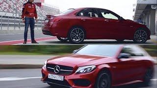 Тест-драйв Mercedes-Benz C 450 AMG DTM TEAM Edition (367 л.с.) + стенд, автодром и 0-200 км/ч