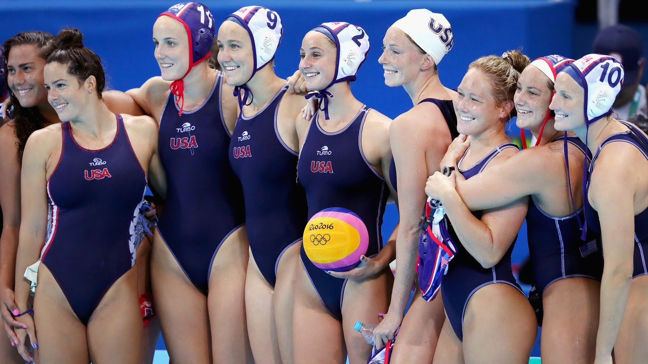 naked girls water polo