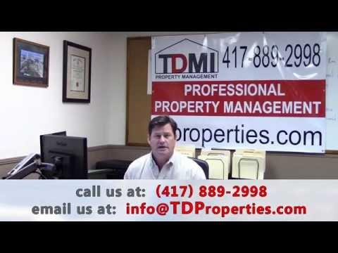 Why TD Management, Inc. for Property Management in Springfield, MO