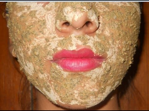 how to make chandan powder face pack