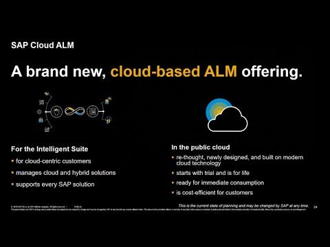 What Is SAP Cloud ALM?