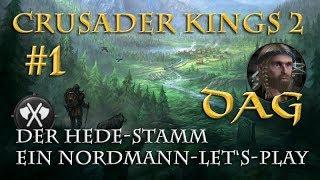 Let's Play Crusader Kings 2 – Der Hede-Stamm #1: Heerzug nach Sachsen (Rollenspiel/deutsch)