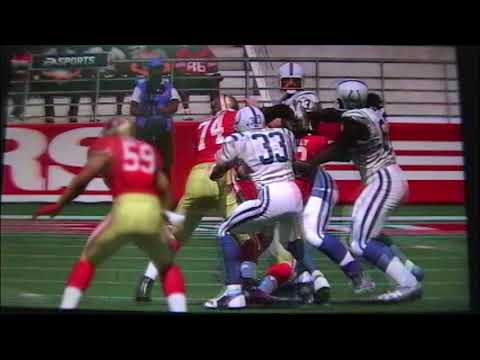 Madden 17 Indianapolis Colts vs San Francisco 49ers