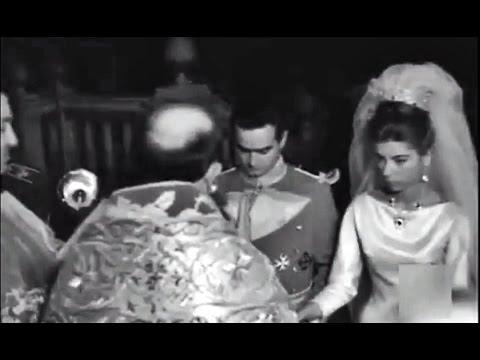 1963 boda Princesa María Teresa de Baviera y Don Alfonso Márquez Patiño. Borbón. Borbones.