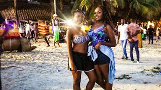 You Won't Believe What Happens At The Most Popular Beach in Mombasa/Kenya!!!