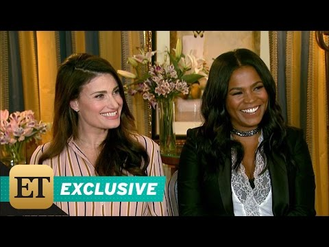 EXCLUSIVE: Idina Menzel Says It Was 'Daunting' Doing 'Beaches' Remake
