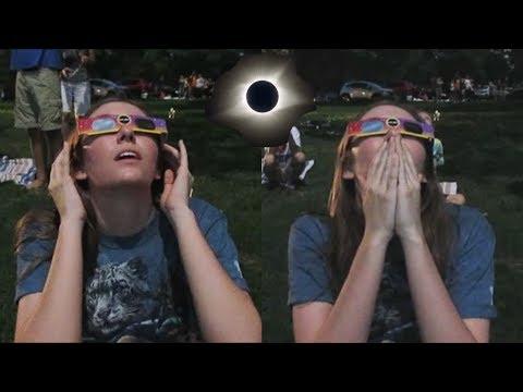 Total Solar Eclipse Live Reaction 2017 | Nashville, TN
