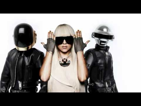 New 2011 Daft Punk ft  Lady Gaga   Human After All Mash Up   YouTube