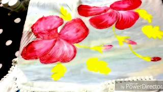 hand painted kurti