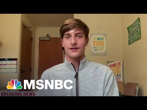 14-Year-Old On Participating In Pfizer Vaccine Trial | MSNBC