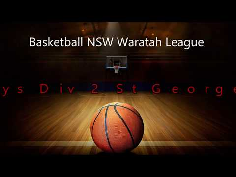 U12 Waratah League Div 2 Boys Rep Basketball