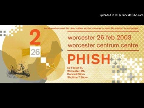"Phish - ""Waves/Prince Caspian/Frankenstein/Golgi Apparatus"" (Centrum, 2/26/03)"