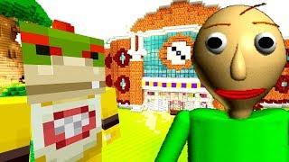 BALDI'S BASIC IN MINECRAFT! | Nintendo Fun House | Minecraft Switch [272]