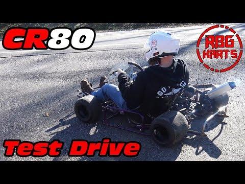 CR80 Shifter Kart First Ride