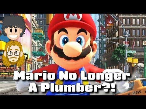 Mario No Longer a Plumber?! #CUPodcast