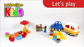 Lego Duplo 10602 Camping Adventure - Let's Play - Lego Speed Build For Kids