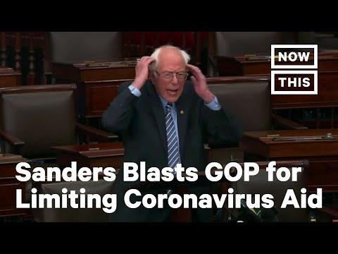 Bernie Sanders Confronts
