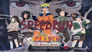"Naruto The Broken Bond (2008) ~ 04:54'54""400 Speedrun 04:49:49 WR"