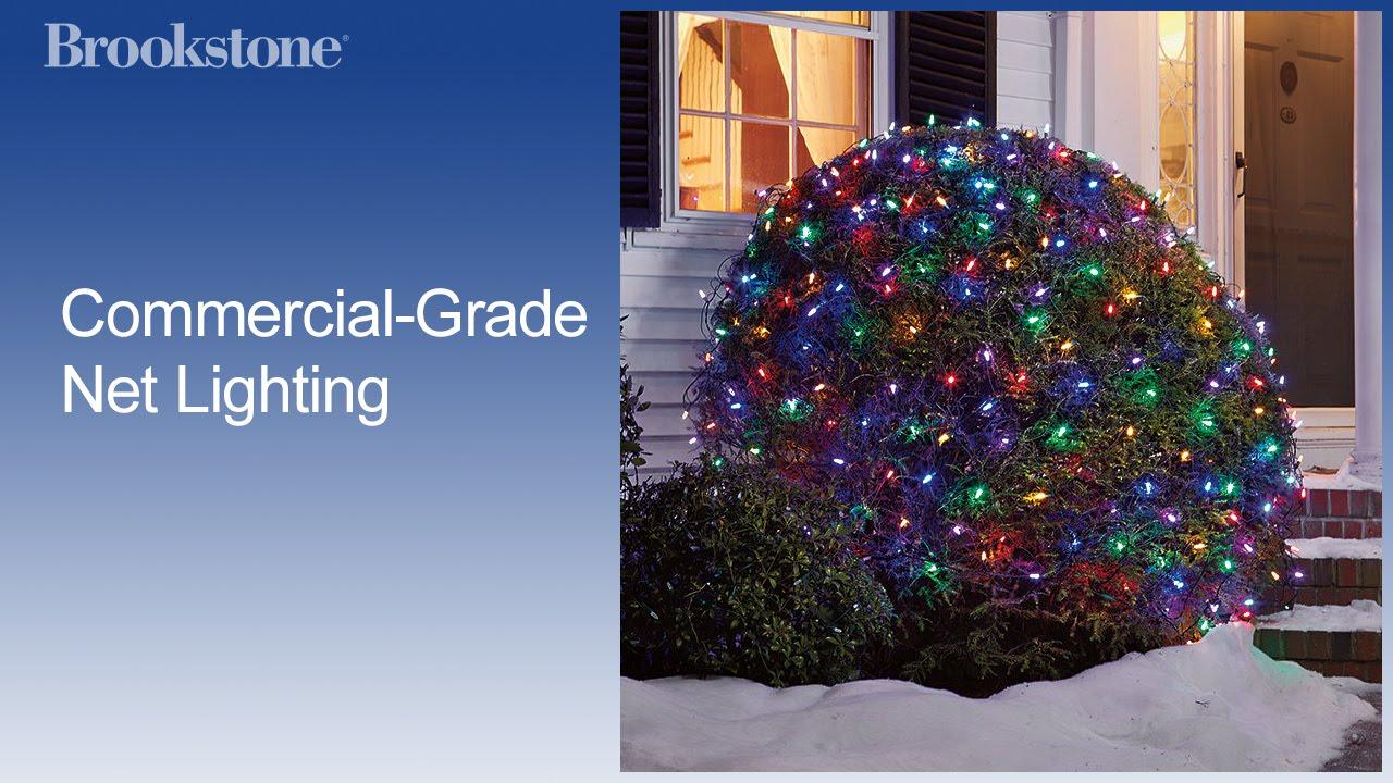 Commercial grade net lighting youtube commercial grade net lighting aloadofball Image collections