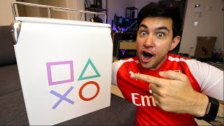 PlayStation sent me this massive box... what's inside??