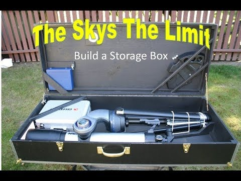 Telescope Storage Box