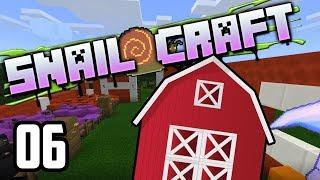 Snailcraft - 06 - Big Red Barn!