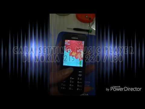 Music player nokia 215 cara cari file music dari memory card ke music player