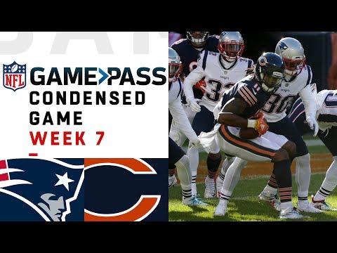 Patriots vs. Bears | Week 7 NFL Game Pass Condensed Game of the Week