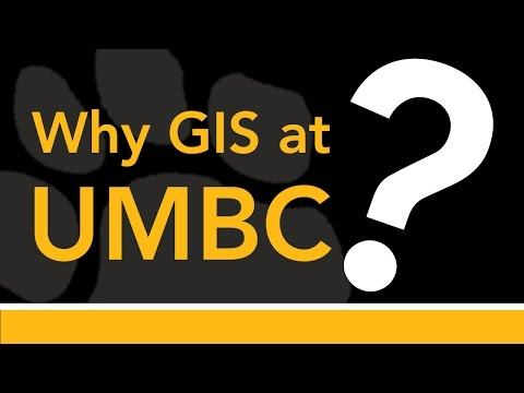 UMBC GIS Virtual Info Session 2015
