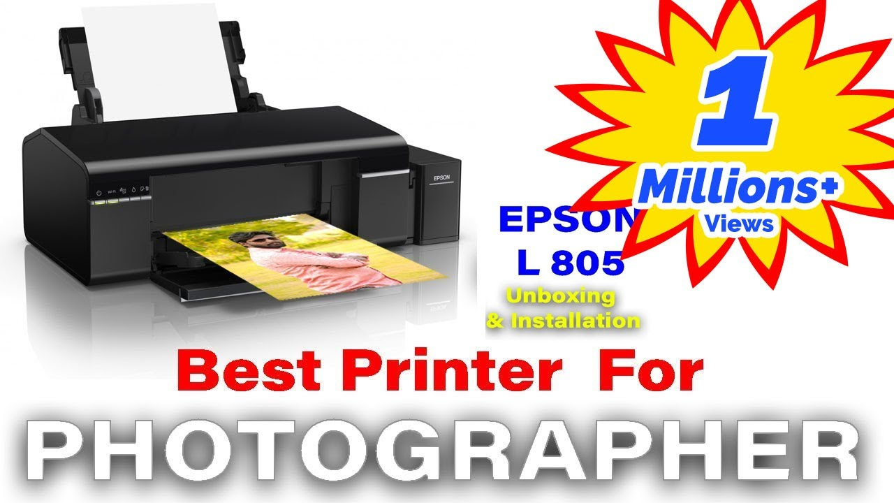 BEST PHOTO PRINTER EPSON L805 | | UNBOXING & INSTALLATION | IN HINDI Part 01