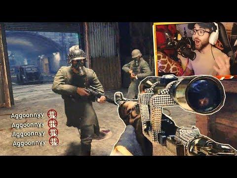 I HIT A QUAD HEADSHOT FEED!! (INSANE COD WW2 Sniper Gameplay & Epic Moments)