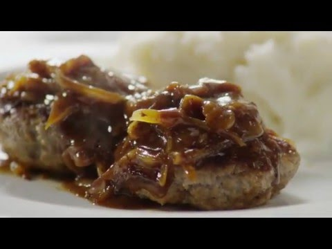 How To Make Hamburger Steak With Onions And Gravy | Beef Recipes | Allrecipes.com