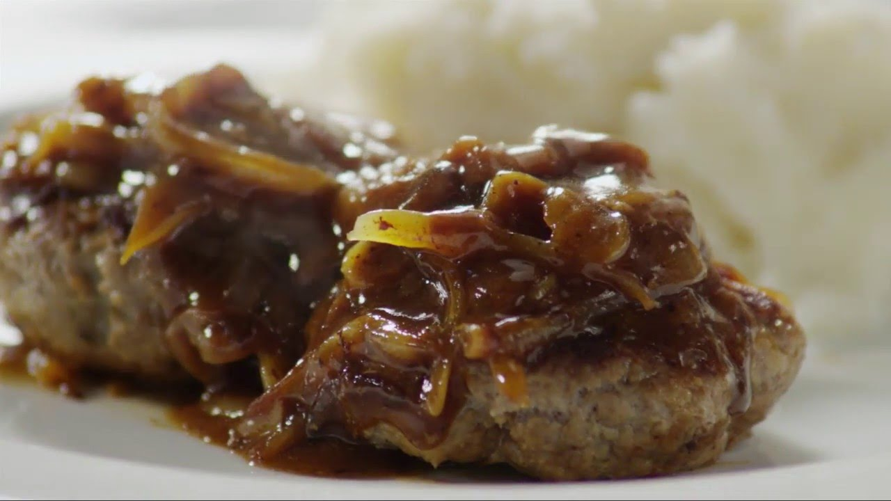 how to cook salisbury steak hamburger steak with gravy