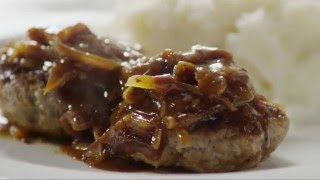 How to Make Hamburger Steak with Onions and Gravy | Beef Recipes | AllRecipes