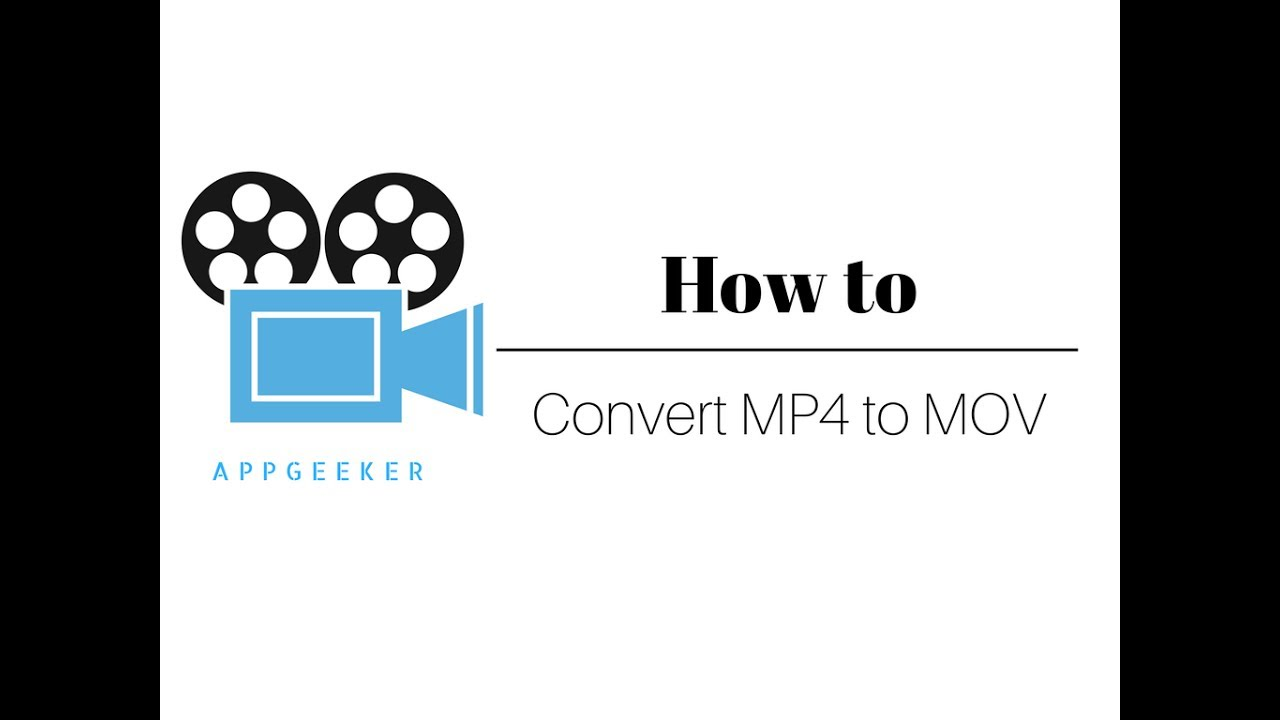 How to Convert MP4 Videos to MOV for Playing on Mac