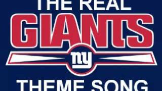 The Real New York Giants Theme Song